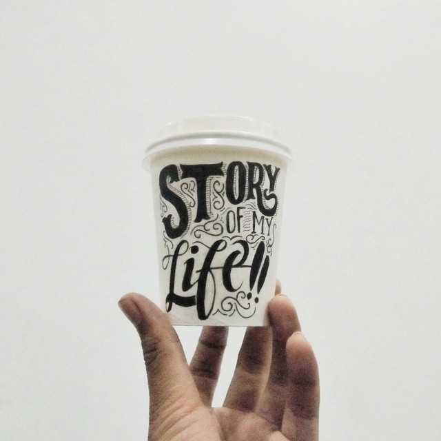 Creative hand lettering object Dimaz Fakhruddin Creative Hand Lettering Art by Dimaz Fakhruddin