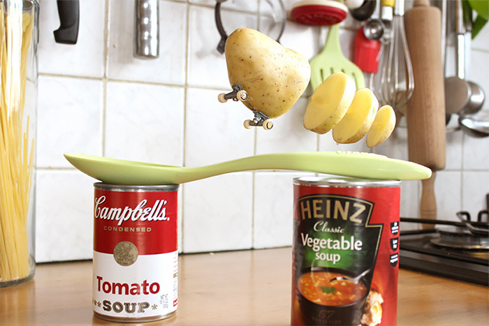 Creative photo of fruit and vegetables by Benoit Jammes 04 The secret life of fruit and vegetables by Benoit Jammes