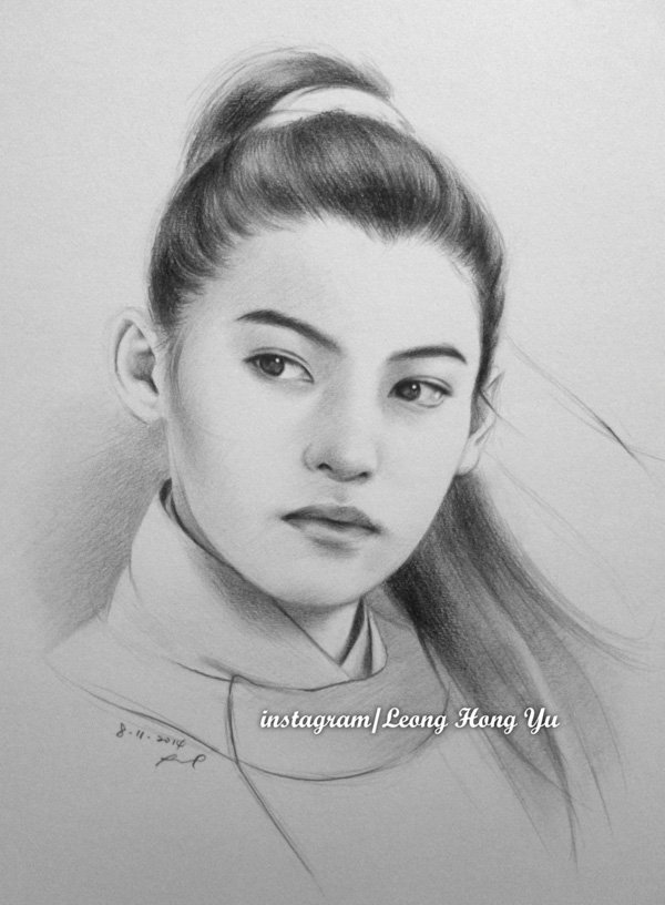 Detailed pencil drawings- Leong Hong Yu 01