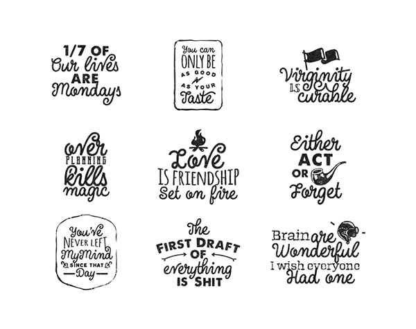 Fun Hand Lettering Quotes Collections Artimasa Studio 01 Fun Lettering Quotes By Artimasa Studio