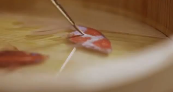 Incredible Detailed 3D Fish Paintings 1 Wonderful Detailed 3D Fish Paintings
