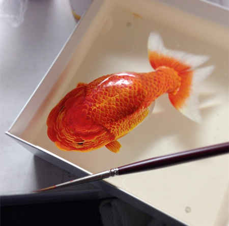 Realistic 3d paintings Beautiful 3D Art paintings by Keng Lye