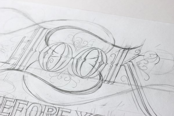 Sketch typography font style Ged Palmer Creative Typography Font Styles by Ged Palmer