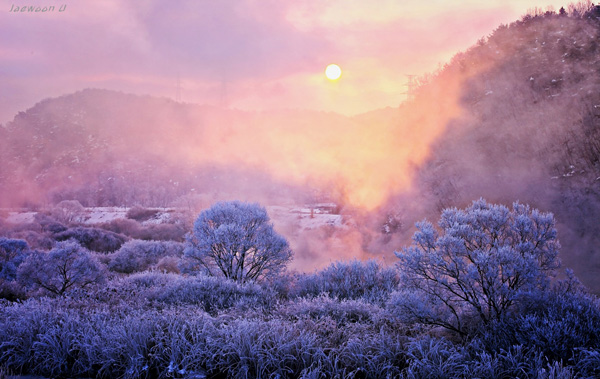 winter morning landscape photography by jaewoon u 03 Mind Blowing Colorful Landscape Photography by Jaewoon u