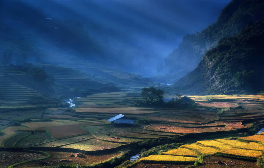 Beautiful Vietnam Rice Terrace Photos by Sarawut Intarob 1024x651 Beautiful Vietnam Rice Terrace Photos by Sarawut Intarob