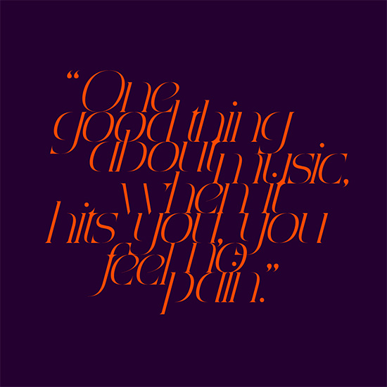 Creative typography font design by aron jansco Creative Typography Artwork by Áron Jancsó