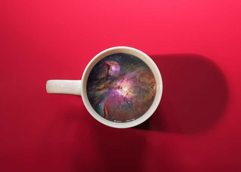 Mind Blowing Coffee Cup Manipulations by Victoria Siemer Unique Coffee Cup Manipulations by Victoria Siemer