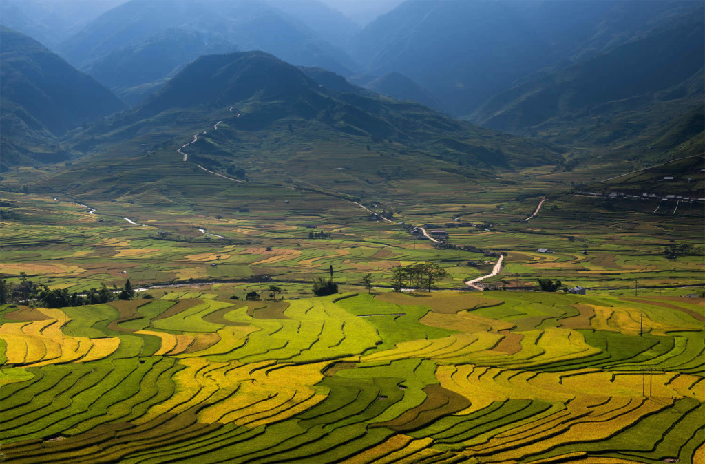 Wonderful Vietnam Rice Terrace Photos by Sarawut Intarob 1024x674 Beautiful Vietnam Rice Terrace Photos by Sarawut Intarob