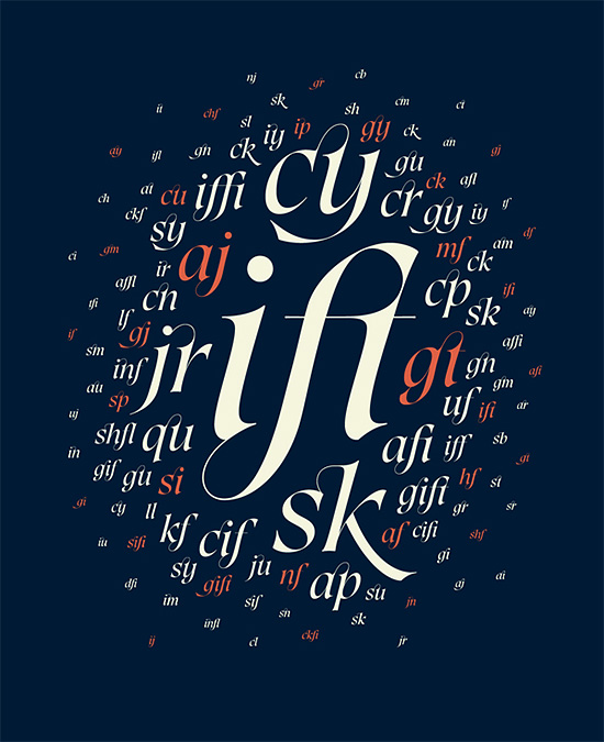Wonderful typography artwork design by aron jansco Creative Typography Artwork by Áron Jancsó