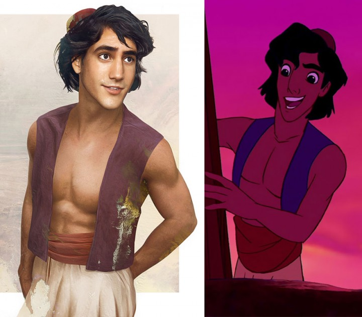 Aladdin in real life How Disney Princes Would Look Like in Real Life