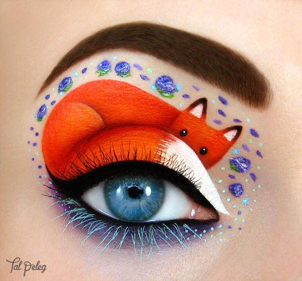 Eye art by Tal Peleg Creative Art With Use Eyes As A Canvas by Tal Peleg