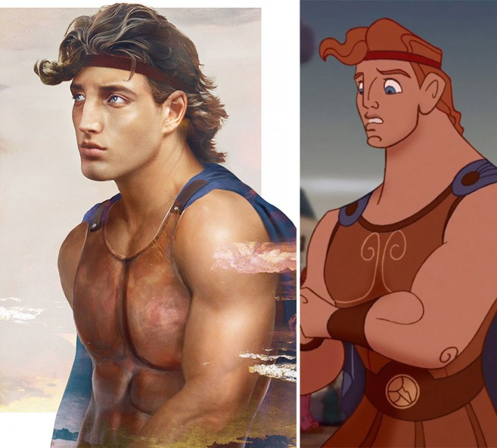 Hercules In Real Life How Disney Princes Would Look Like in Real Life