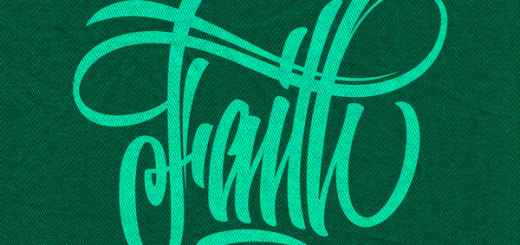 Awesome Lettering font design for Your Own Tattoo