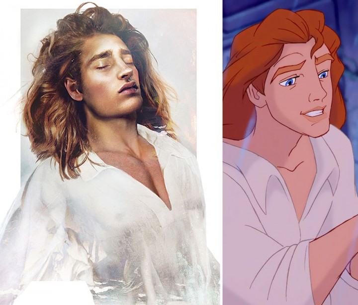 Prince Adam Beauty and the Beast in real life How Disney Princes Would Look Like in Real Life