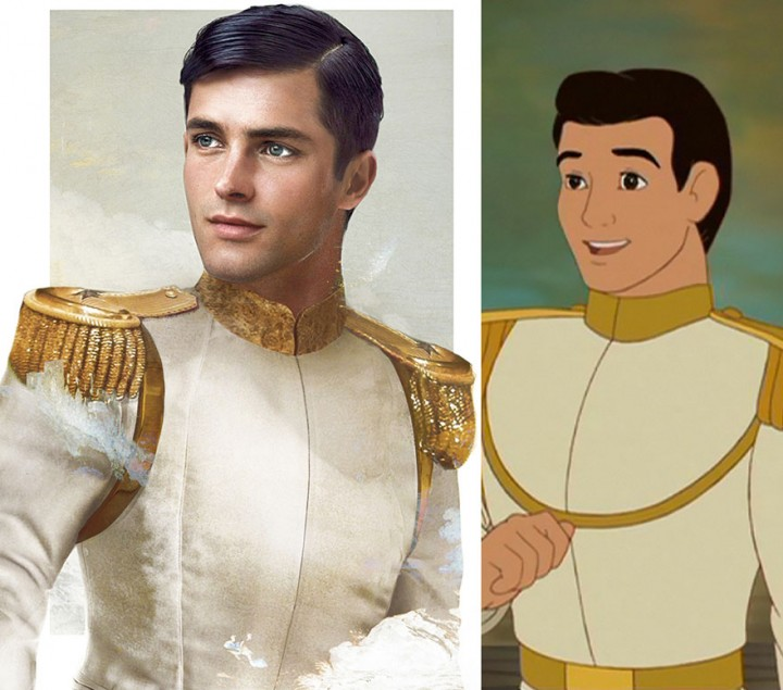 Prince Charming Cinderella in real life How Disney Princes Would Look Like in Real Life