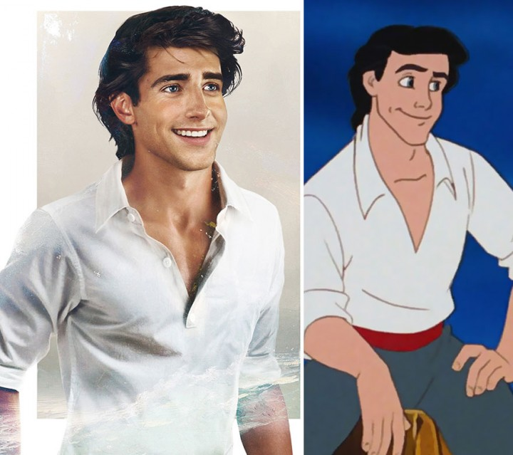 Prince Eric The Little Mermaid in real life How Disney Princes Would Look Like in Real Life