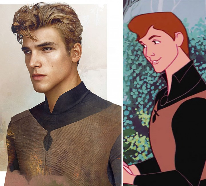 Prince Phillip Sleeping Beauty in real life How Disney Princes Would Look Like in Real Life