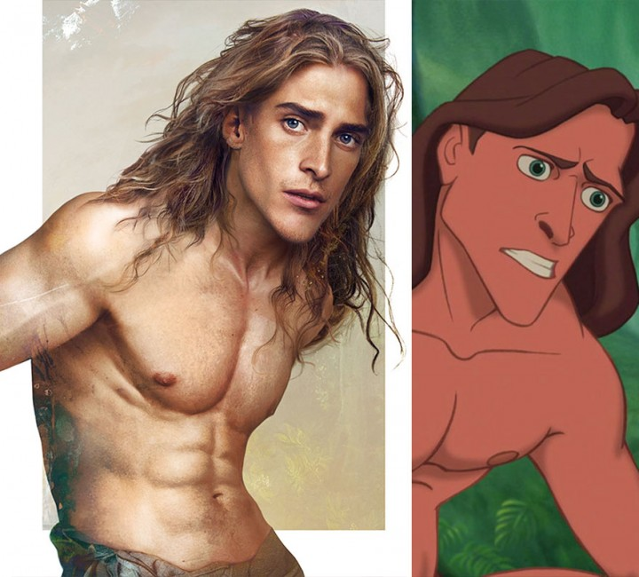 How Disney Princes Would Look Like in Real Life