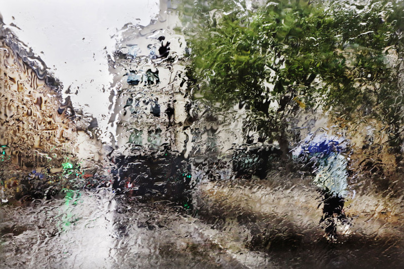 Wonderful Paris Photo in the rain Christophe Jacrot Beautiful Paris Photo in The Rain by Christophe Jacrot