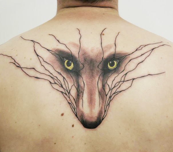 Animal tattoo design Beautiful Tattoos Design That Flowing Naturally In the Body
