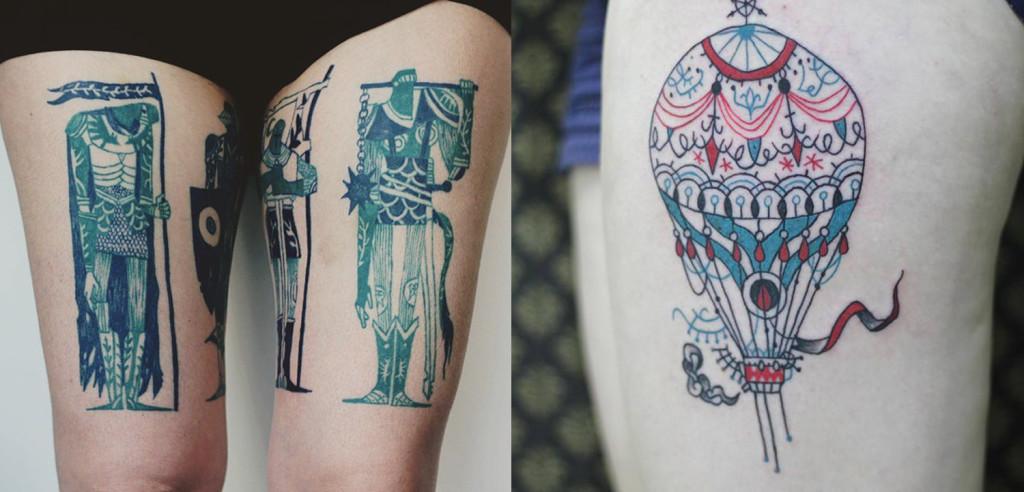 Beauty tattoo desgin by tarmasz 1024x492 Cool Tattoo Design Ideas by Tarmasz