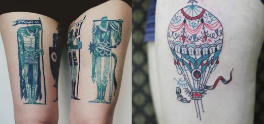 Cool Tattoo Design Ideas by Tarmasz