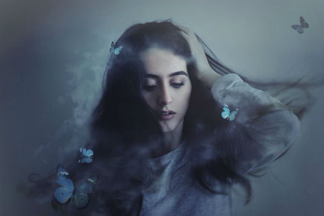 Impressive Self Portraits Photography by Cansu ûzkaraca 01 Beauty Conceptual Self Portraits Photography by Cansu Özkaraca