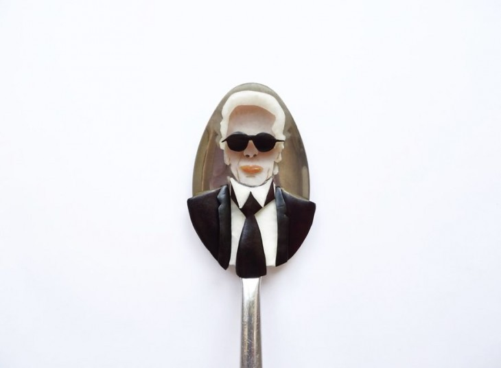 Miniature Masterpieces by Ioana Vanc 05 Miniature Masterpieces Created Using Food And Spoons