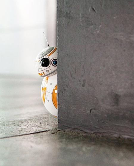 Miniature Star Wars BB 8 Droid 02 Miniature Star Wars BB 8 Droid