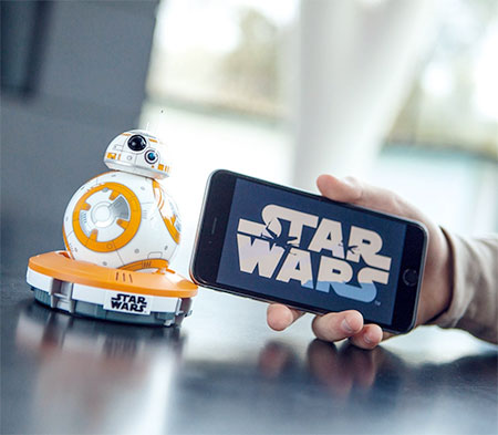 Miniature Star Wars BB 8 Droid 05 Miniature Star Wars BB 8 Droid