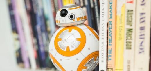 Miniature Star Wars BB-8 Droid