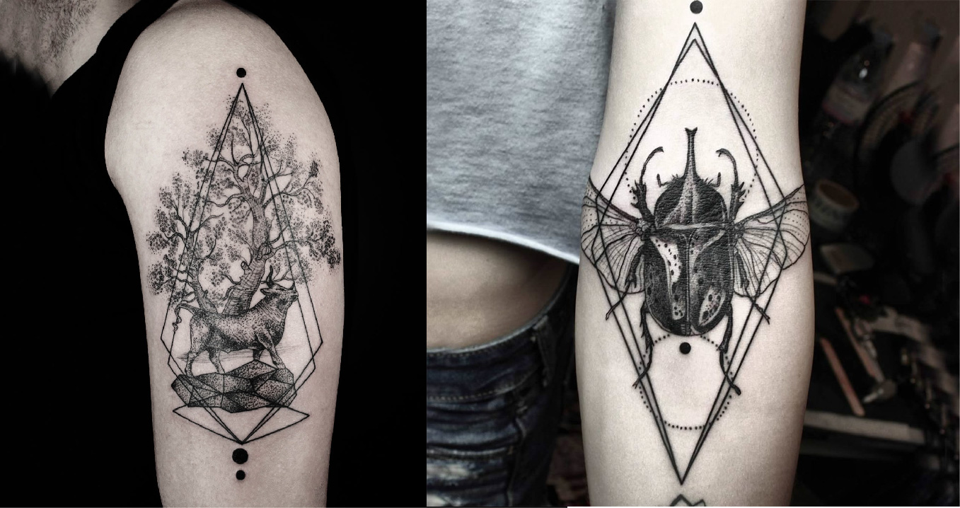 Outstanding Tattoo Design Ideas by okan uckun Home V.2