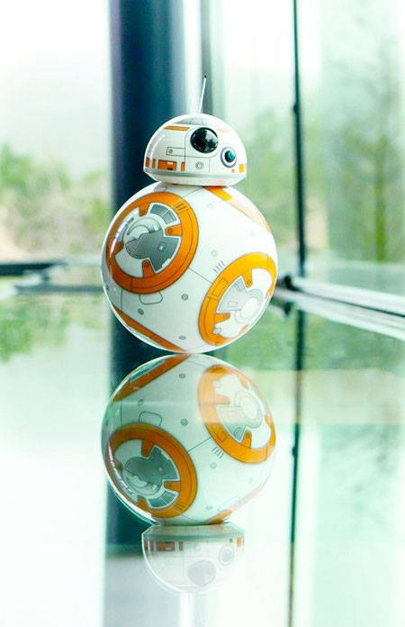 Star Wars BB 8 Droid is Life Miniature Star Wars BB 8 Droid