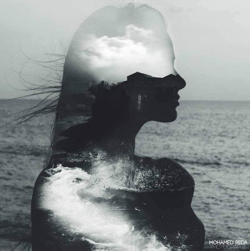 Stunning Double Exposure Photography by Mohamed Reda