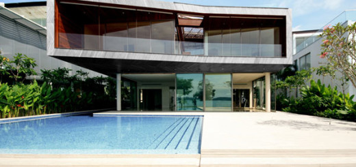 Modern Villa Gallery with Intricate Design in Eco-friendly style