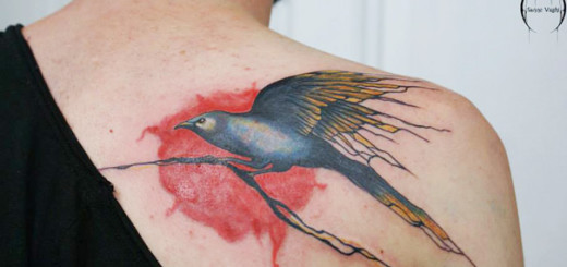 Beautiful Tattoos Design That Flowing Naturally In the Body