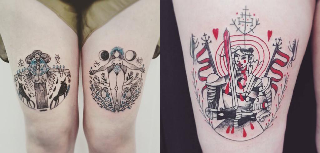wonderful tattoo desgin by tarmasz 1024x492 Cool Tattoo Design Ideas by Tarmasz
