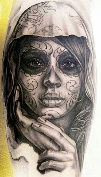 Beauty Sugar Skull Tattoo Meaning Sugar Skull Tattoo Meaning