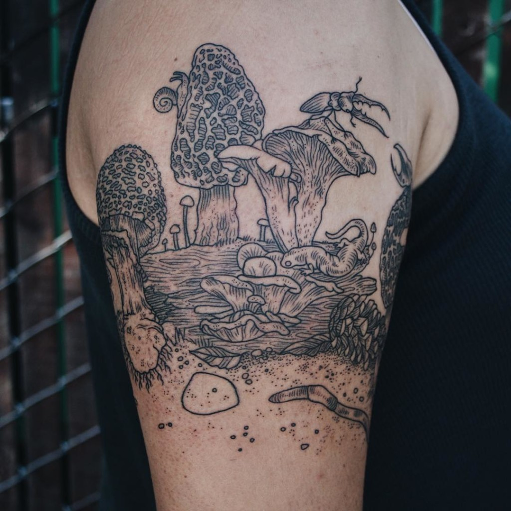 Beauty naturalistic tattoos ideas 1024x1024 Meaningful Tattoo Ideas for Man and Woman