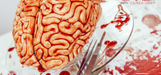 Creative Idea : How To Make A Red Velvet Brain Cake For Halloween