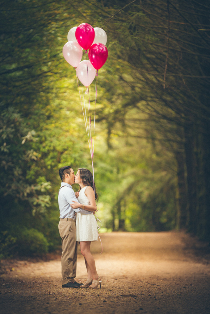 Romantic Engagement Photography examples
