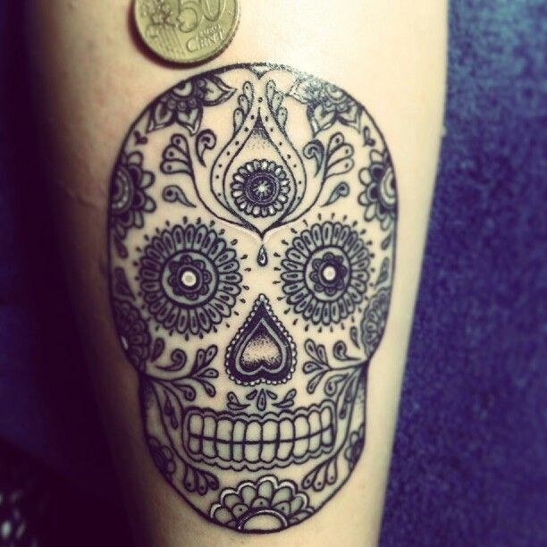 Sugar Skull Tattoo ideas 02 Sugar Skull Tattoo Meaning