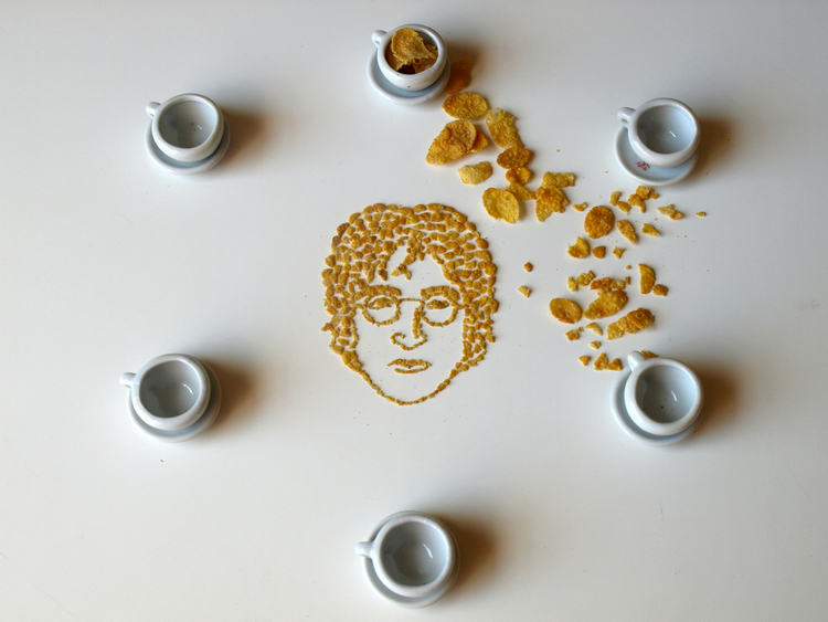 Unique Art and Made from Cornflakes Extraordinary of Unique Art and Made from Cornflakes