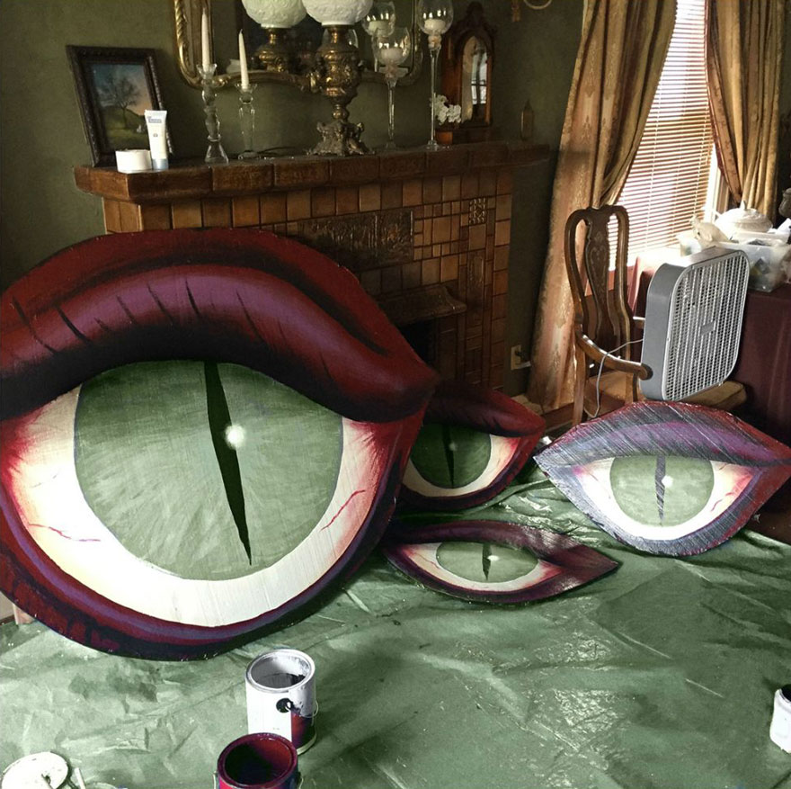 Decorated Homes: Amazing Decoration House For Halloween