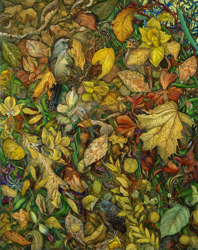 Beautiful Detailed Paintings by judy garfin Highly Detailed Paintings of Gardens by Judy Garfin