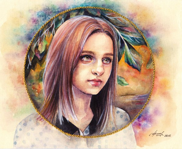 Beauty Watercolor Paintings Ideas by Lina Watercolor Paintings Ideas by Lina