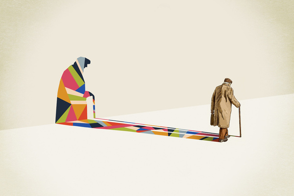 Creative Illustrations DesignGÇô Walking Shadow Series by Jason Ratliff 02 Creative Illustrations Design– Walking Shadow Series by Jason Ratliff