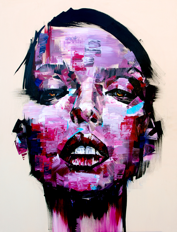 Creative Painting portrait by Josept Lee Creative Painting portrait Idea by Josept Lee