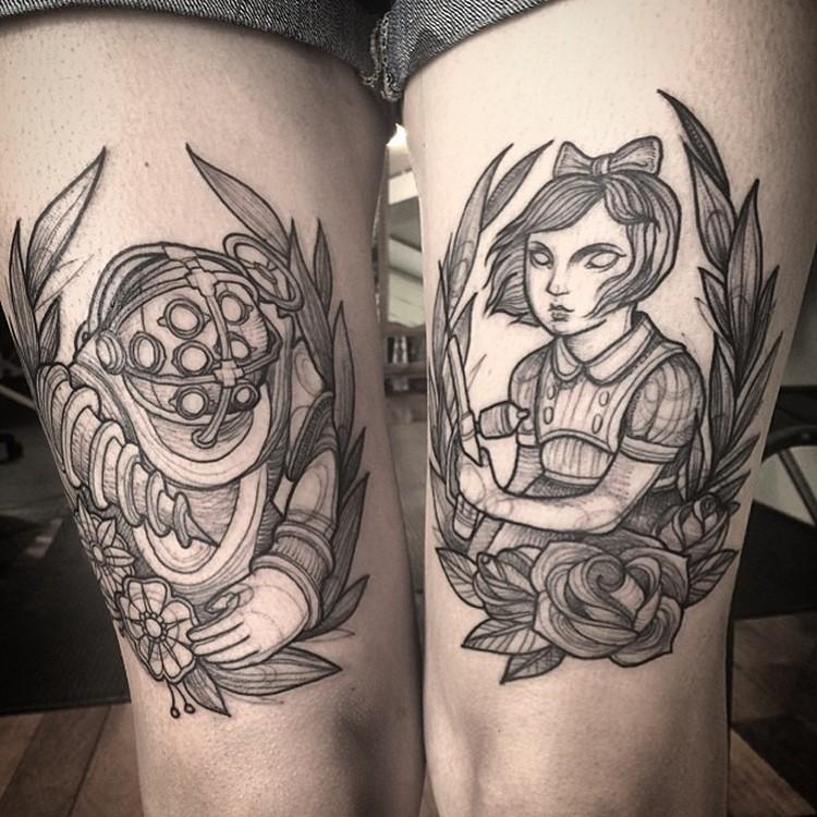 Creative Tattoo design ideas Creative Tattoo Ideas: Tatto Look Like Pencil Drawings