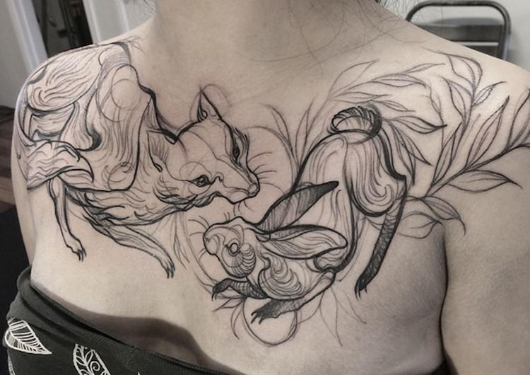 Creative Tattoo design Creative Tattoo Ideas: Tatto Look Like Pencil Drawings
